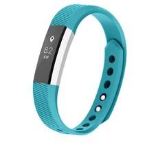 Siliconen polsbandje voor de Fitbit Alta / Alta HR - Turquoise