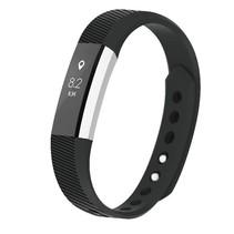 Siliconen polsbandje voor de Fitbit Alta / Alta HR - Zwart