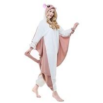 Vliegende Eekhoorn Onesie voor volwassenen - Vliegende Eekhoorn Kigurumi Pyjama