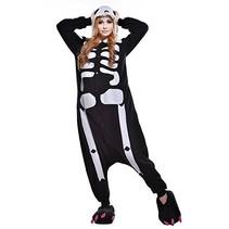 Skelet Onesie voor volwassenen - Skelet Kigurumi Pyjama