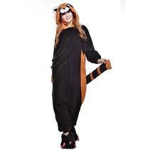 Rode Panda Onesie voor volwassenen - Rode Panda Kigurumi Pyjama