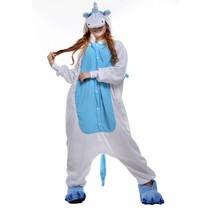 Blauwe Pegasus Onesie voor volwassenen - Blauwe Pegasus Kigurumi Pyjama