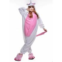 Roze Pegasus Onesie voor volwassenen - Roze Pegasus Kigurumi Pyjama