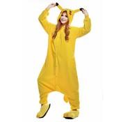 REBL Pikachu Onesie voor volwassenen - Pikachu Kigurumi Pyjama