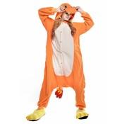 REBL Charmander Onesie voor volwassenen - Charmander Kigurumi Pyjama