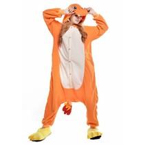 Charmander Onesie voor volwassenen - Charmander Kigurumi Pyjama