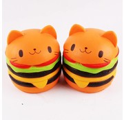 REBL Hamburger Kat Squishy - Slow Rising - Copy