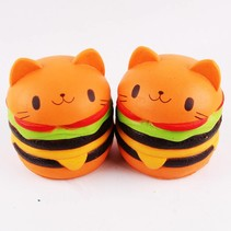 Hamburger Kat Squishy - Slow Rising - Copy