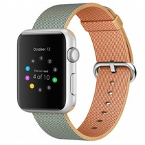 Geweven nylon bandje voor de Apple Watch  - Royal Blauw