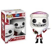 NBX Santa Jack Skellington #72 - Funko POP!