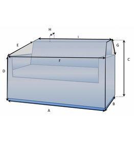 Schutzhülle auf Maß für Loungebank Typ 10