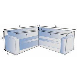 Schutzhülle auf Maß für Loungebank Typ 5