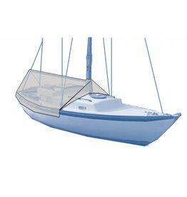 Kuipzeil zeilboot zonder railing