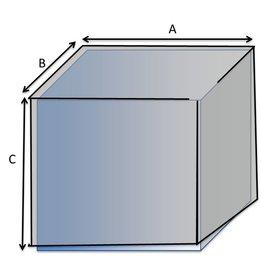 Quadratische Schutzhülle Typ 1 auf Maß