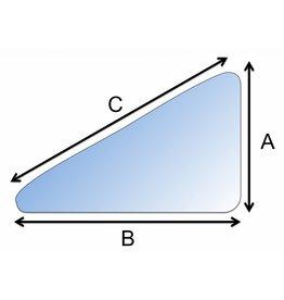 Raam repareren / vervangen driehoek