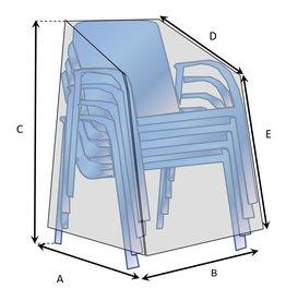 Hoes voor stapelstoelen op maat