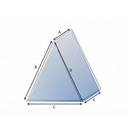 Driehoekige hoes op maat