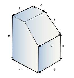 Quadratische Schutzhülle Typ 3 auf Maß