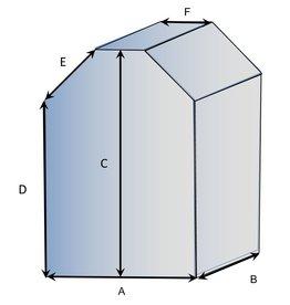 Vierkant vorm type 4 hoes op maat