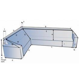 Schutzhülle auf Maß für Loungebank Typ 8