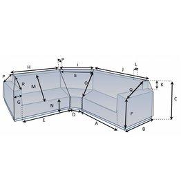 Schutzhülle auf Maß für Loungebank Typ 12