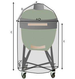 Maßgefertigte Schutzhülle für Big Green Egg / Kamado