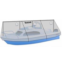 Winterdeckelboot (mit Geländer)