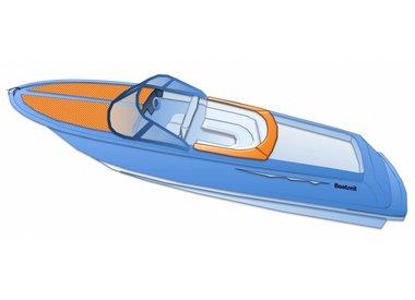 Abdeckplane für Tenderboot