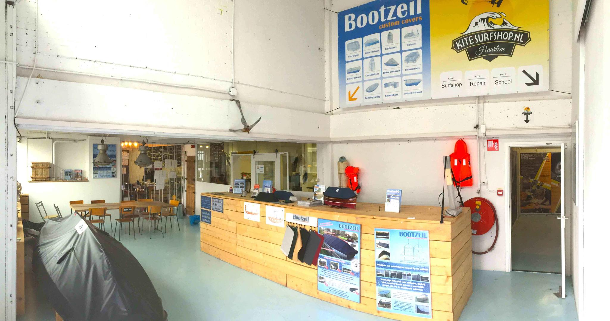 Eingangsbereich Hauptsitz Bootzeil