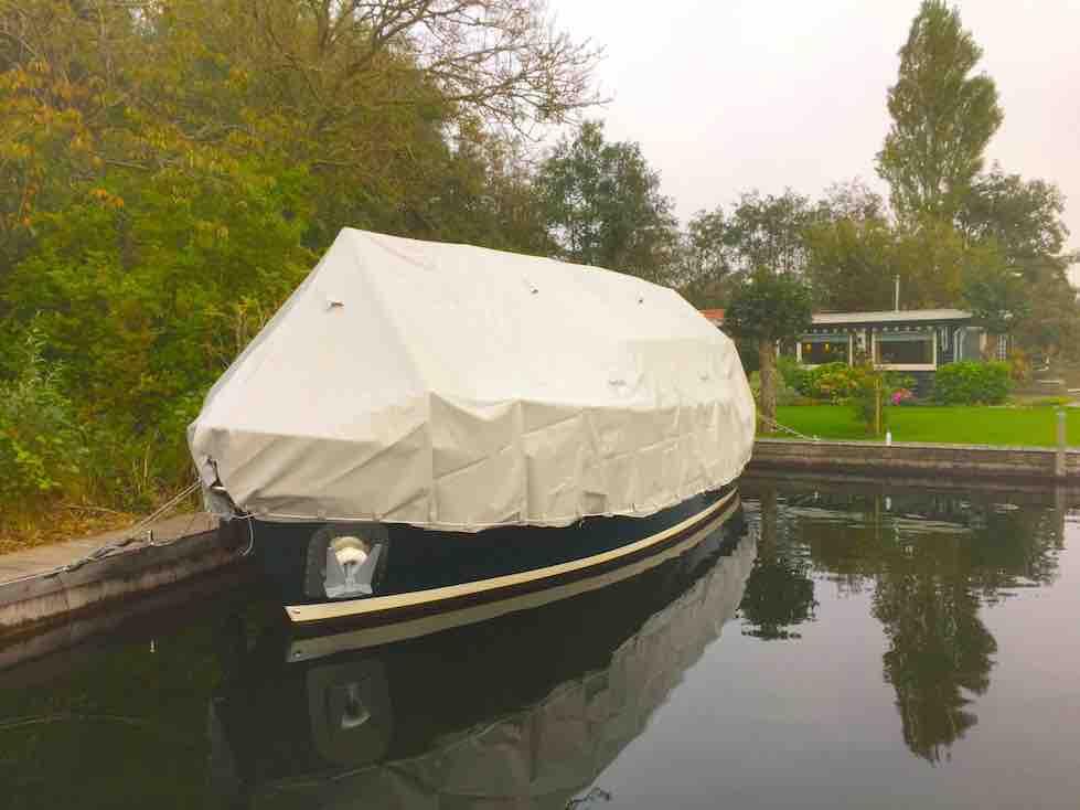 dekzeil-motorboot