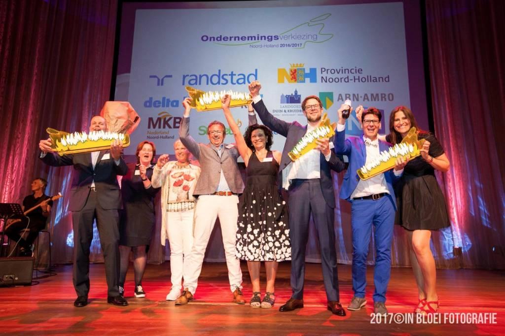 Bootzeil verkozen tot beste onderneming Noord-Holland