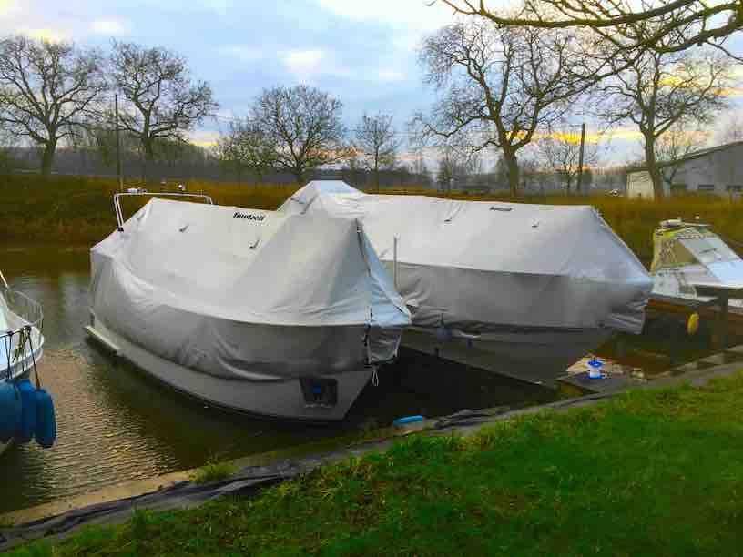 Hoogste tijd om de boot winterklaar te maken...