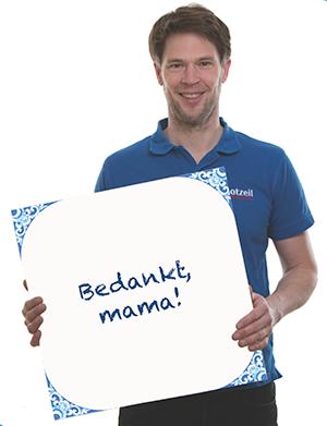 Bootzeil-Danke-Mama