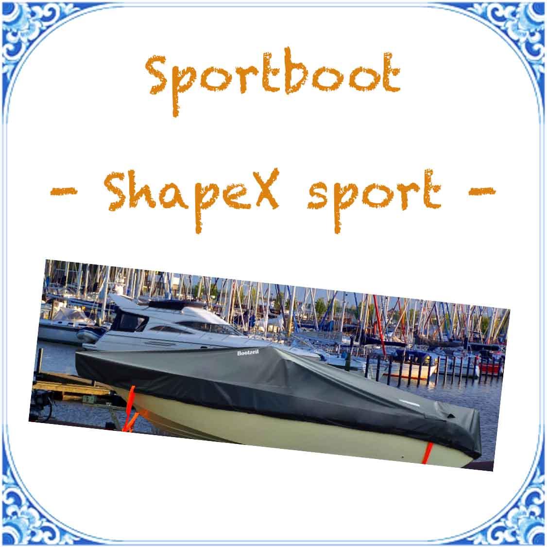Abdeckplane Shape x Sport