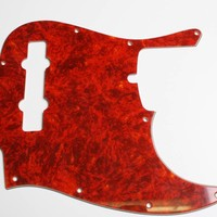 JB5 pickguard red tortoise