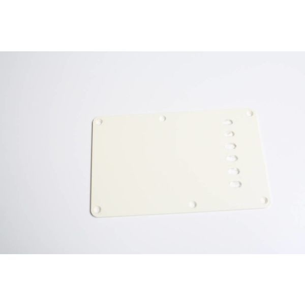 Backplate strat aged white