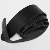 De Gier Guitars draagband  zwart