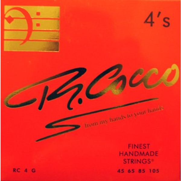 R. Cocco RC4G Bassnaren .045 - .105 (stainless steel)