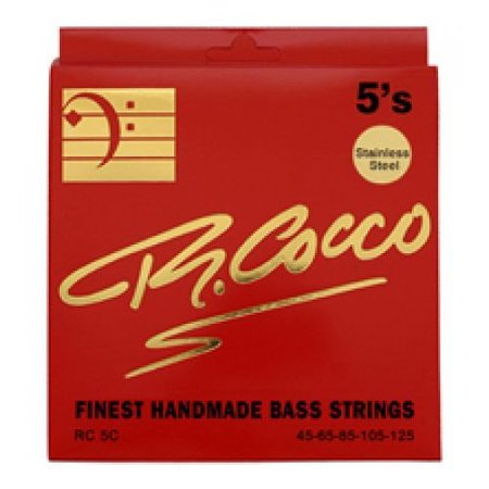 R. Cocco RC5C Bassnaren .045 - .125 (stainless steel)