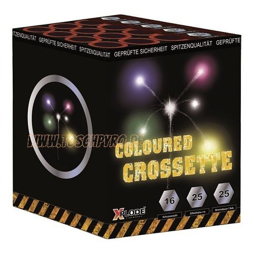 Xplode Crosettebatterie Bunt