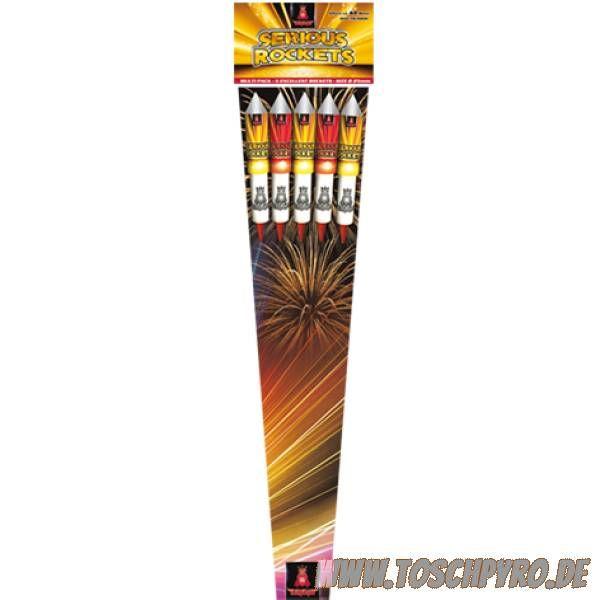Geisha Raketenset Serius Rocket