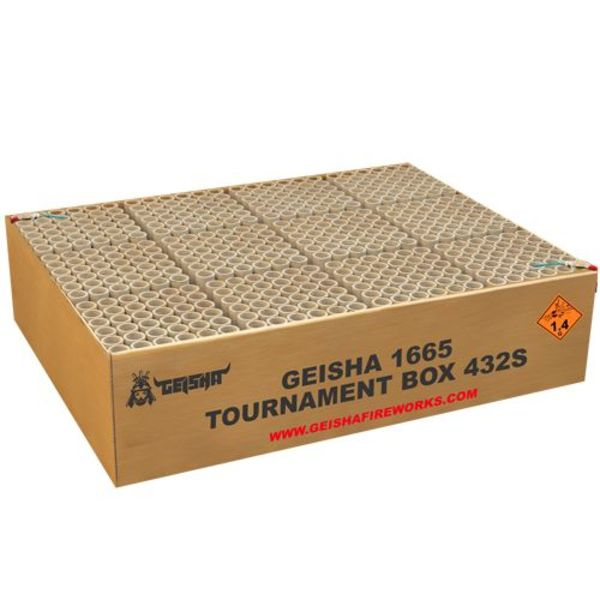 Geisha Tournament Box
