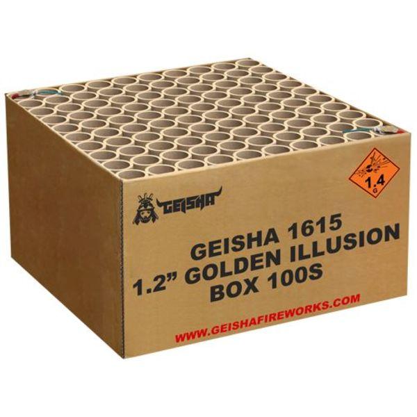 "Geisha 1.2"" Golden Illusion"
