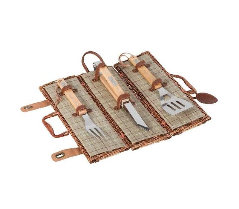 3 Delige barbecue set