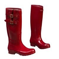 Tuinlaarzen wellingtons Classic red