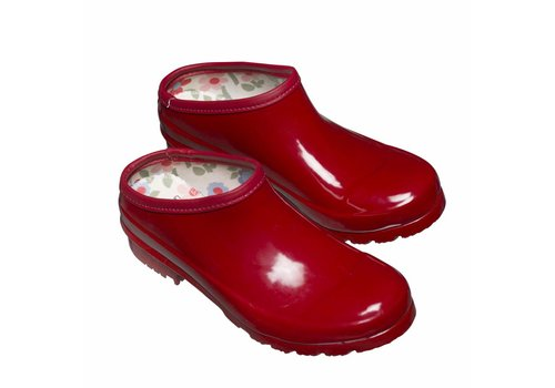 Laura Ashley Clogs: Classic red