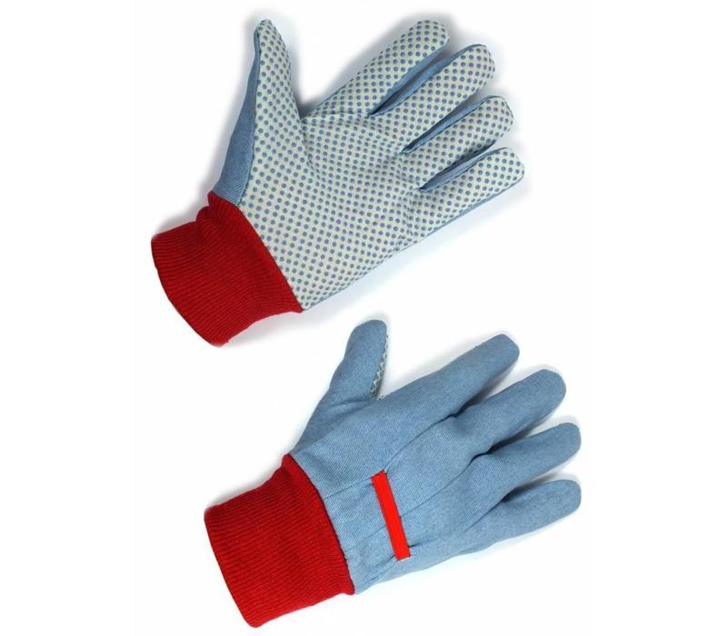 Tuinhandschoenen: Gloves Caravan Daisy soft cotton twin pack