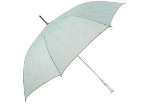 Laura Ashley Paraplu: Continental Umbrellas Cathcart Duck Egg