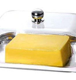 Renberg Botervloot met deksel (RVS / Acryl)