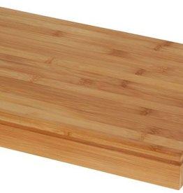 Excellent Houseware Bamboe snijplank met opvangbak